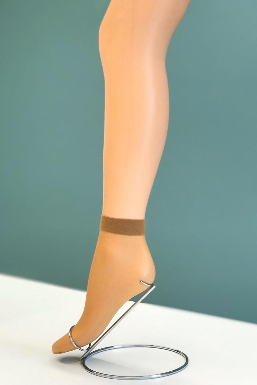 Hays Kadın Parlak Burunsuz İnce Soket Çorap