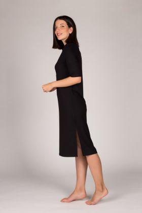 Hays Kadın Gömlek Yaka Yarım Kol Elbise