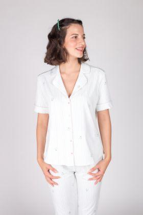 Hays Kadın Kısa Kollu Gömlek