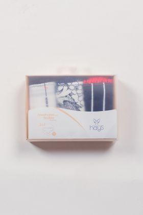 Hays Kadın 3Lü Paket Klasik Slip Külot