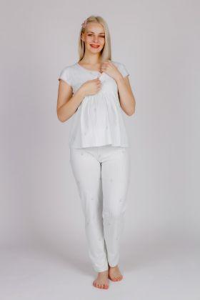 Hays Kadın Fermuar Detaylı Üstlü Uzun Pijama Takımı