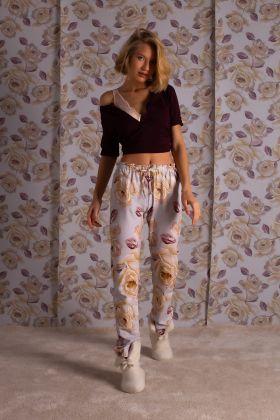 Kadın Penye Uzun Pijama Takımı