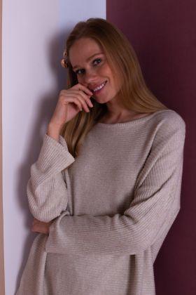 Kadın Triko Büyük Beden Pijama Takımı