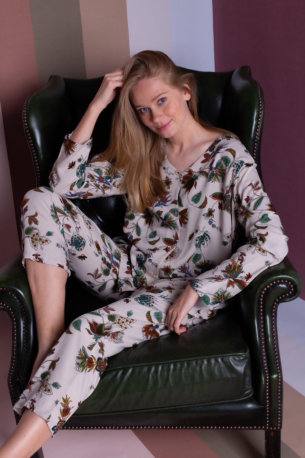 Hays Kadın Vegan Büyük Beden Pijama Takımı