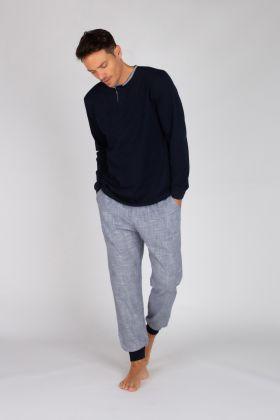 Erkek Uzun Pijama Takımı