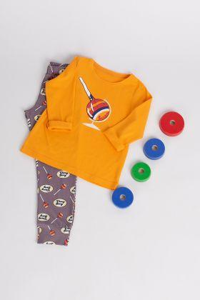 Kız Çocuk Uzun Pijama Takımı