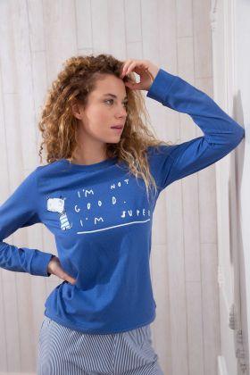 Hays Kadın Uzun Kollu Pijama Takımı