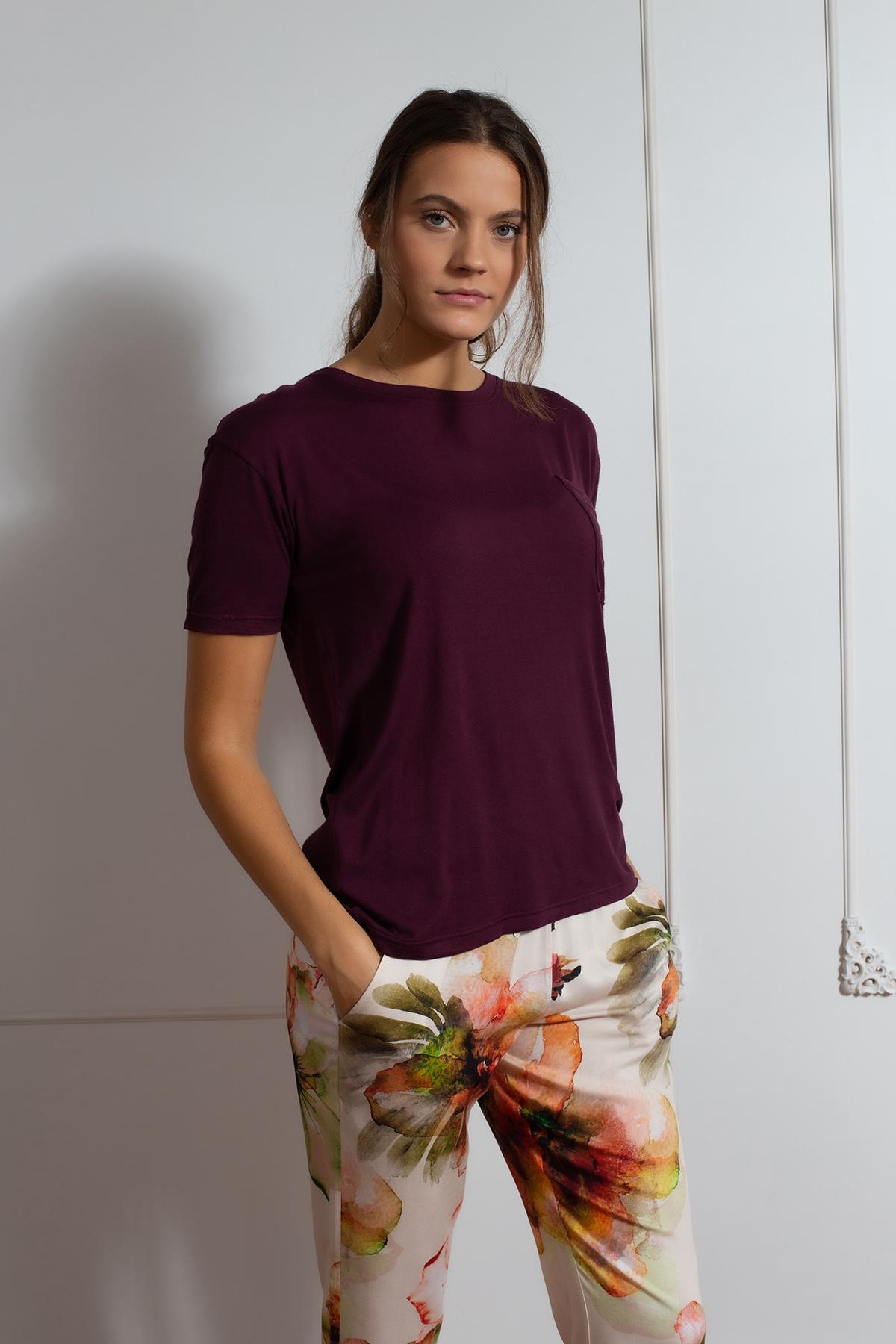 Hays Kadın Uzun Ev Giyim Takım