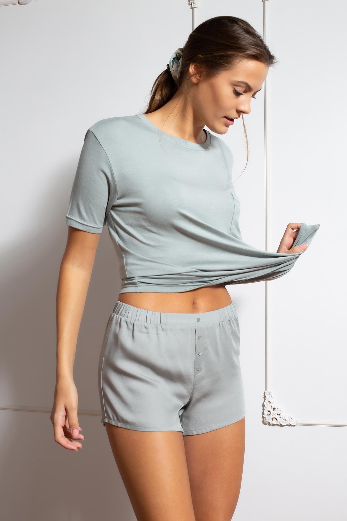 Hays Kadın Şortlu Ev Giyim Takım