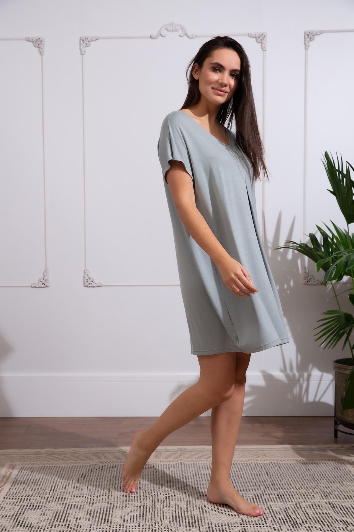 Hays Kadın Lohusa Kısa Kollu Elbise