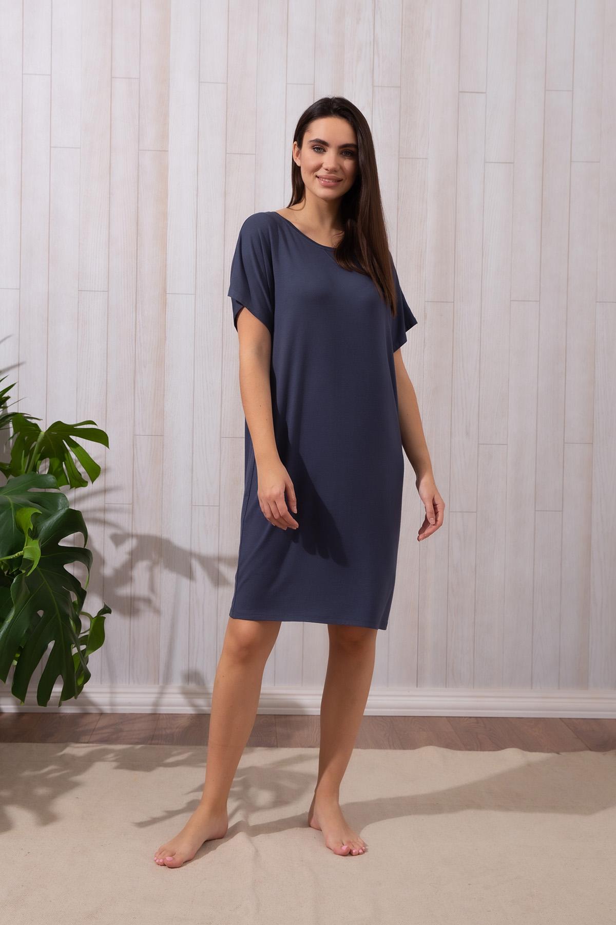 Hays Kadın Büyük Beden Kısa Kollu Elbise