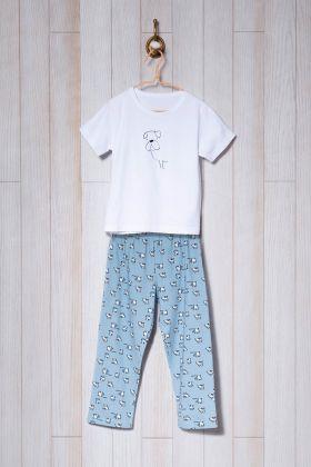 Erkek Çocuk Uzun Pijama Takımı