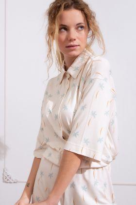 Kadın Yarım Kollu Gömlek
