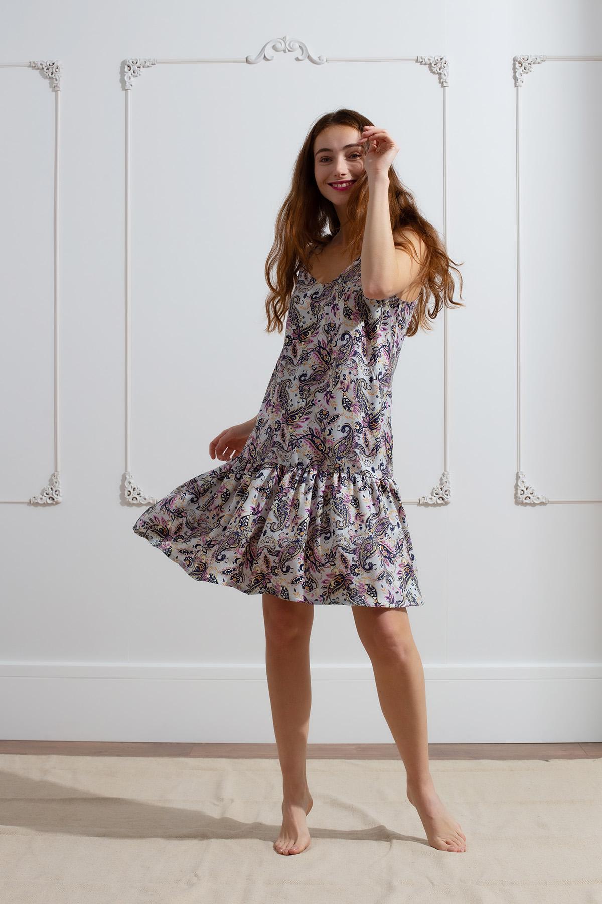 Kadın Askılı Elbise