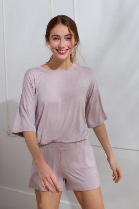 Kadın Şortlu Pijama Takımı