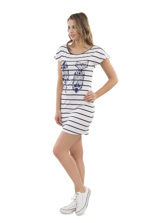 Hays Out Penye Kadın Kısa Kollu Elbise