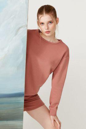 Kadın Şardonlu Cepli Şortlu Ev Giyim Takım