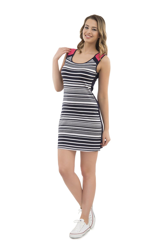 Hays Out Penye Kadın Kolsuz Elbise