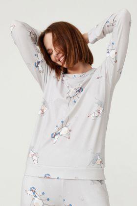 Kadın Uzun Kollu T-shirt