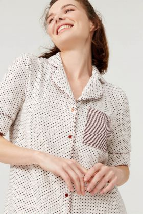 Kadın Kısa Kollu Gömlek