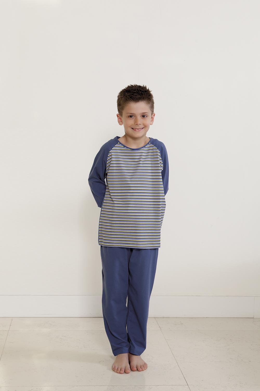 Hays Erkek Çocuk Penye 2li Uzun Pijama Takımı